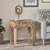 Lionel End Table with Storage by Foundry Select