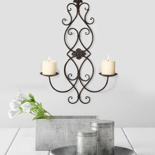 Vertical Wall Hanging Metal Candelabra  sc 1 st  Wayfair & Wall Hanging Plate Holders | Wayfair