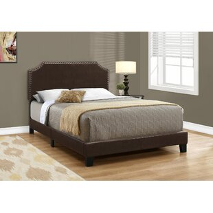 Lamphear Full Upholstered Panel Bed by Charlton Home