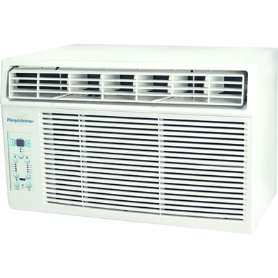 10000 BTU Energy Star Window Mounted Air Conditioner with Remote Keystone