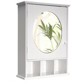 50cm X 69cm Surface Mount Mirror Cabinet By Belfry Bathroom