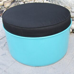 Tucson Ottoman with Cushion by Drum Works Furniture