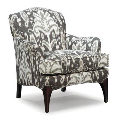 Fairfield Chair Mathis Armchair Leg Colour: Hazelnut, Upholstery Colour: Caribbean