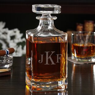 Carson Personalized 26 oz. Whiskey Decanter