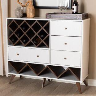 Turn on the Brights Crescio Bar with Wine Storage