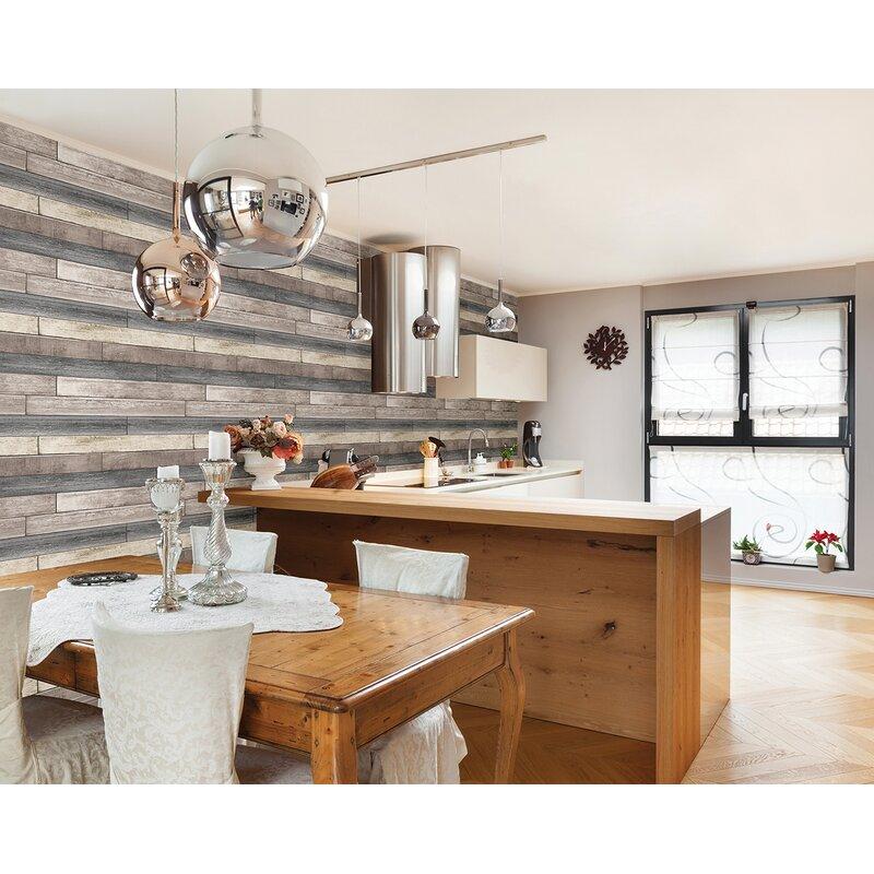 Brewster Home Fashions 33 X 20 5 Dustin Wood Wallpaper Reviews