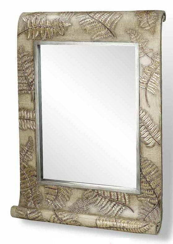 Millwood Pines Neville Fern Wall Mirror Wayfair