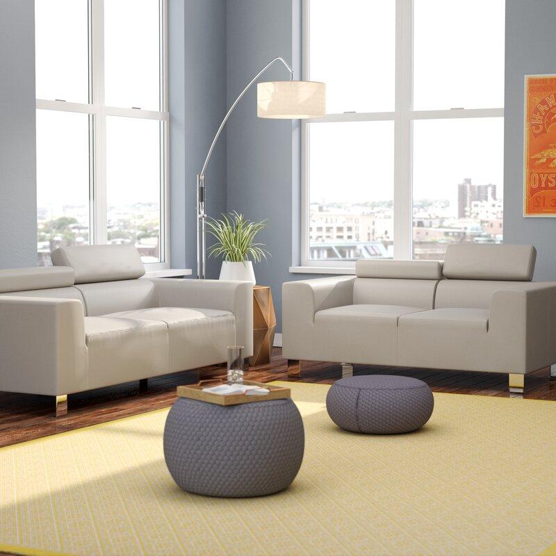 Wade Logan Montvale 2 Piece Living Room Set & Reviews   Wayfair