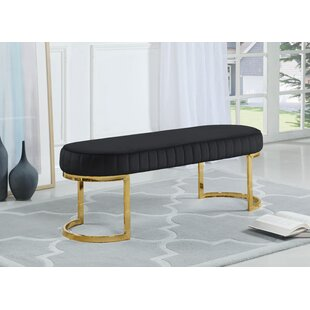 Mercer41 Ireland Upholstered Bench
