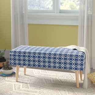 Valdez Upholstered Storage Bench by George Oliver