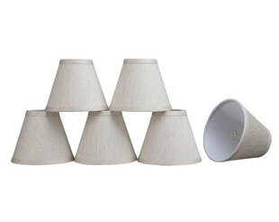 6 Linen Empire Candelabra Shade (Set of 6) By Aspen Creative Corporation Lamps