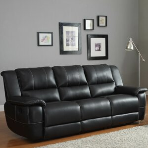 Cantrell Double Reclining Sofa by Woodhaven Hill