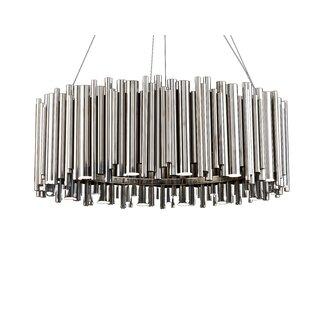 Brayden Studio Leiter Rod Fixture 16-Light LED Chandelier