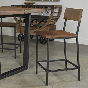 Sonnier Solid Wood Dining Chair (Set of 2) Union Rustic