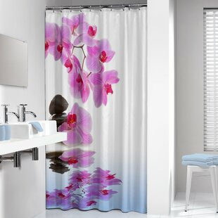 Orchid Single Shower Curtain