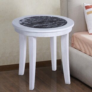 Sturgeon Marble Top End Table By Red Barrel Studio
