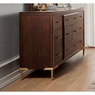 Cedar 7 Drawer Dresser by Everly Quinn