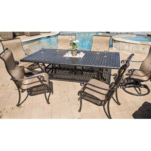 Kempf 7 Piece Dining Set by Darby Home Co