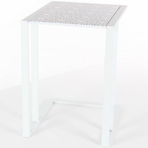 Chilmark Classy Metal Wood End Table by Bungalow Rose
