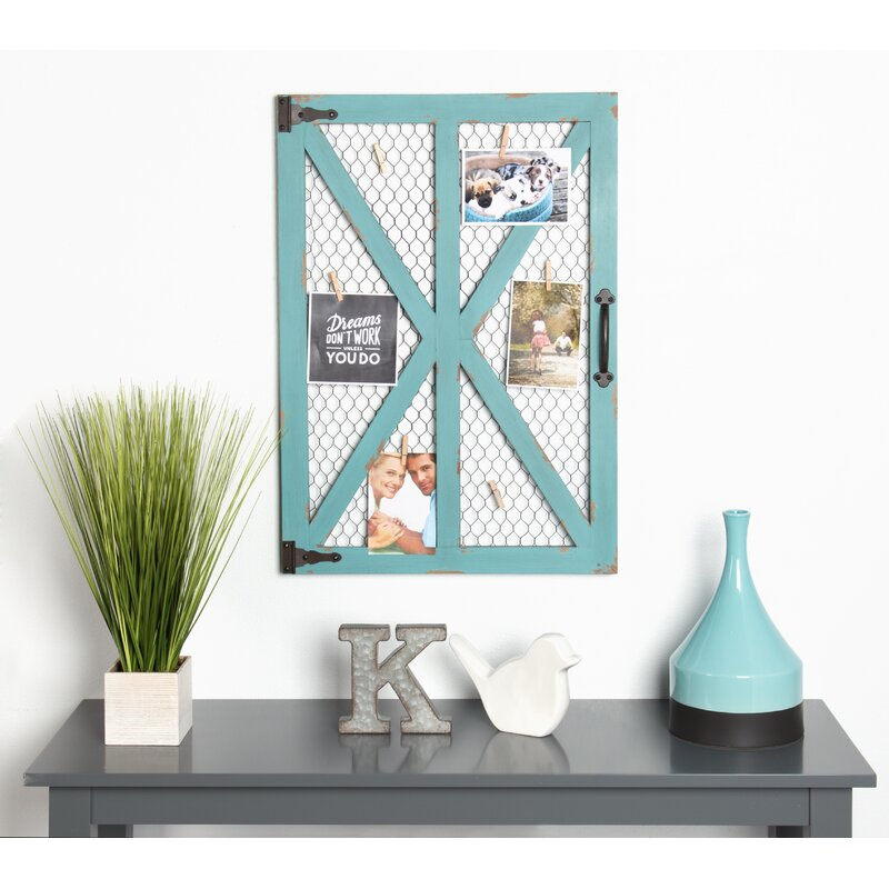 August Grove Sherita Wood Windowpane Clip Wall Picture Frame ...