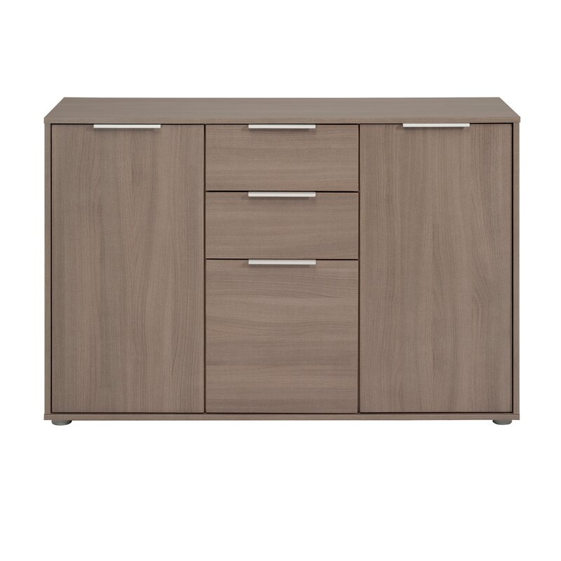Turn on the Brights  Biffle Sideboard Color (Base/Top): Silver Walnut