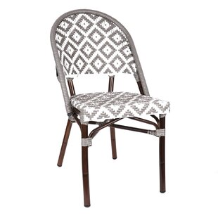 Check Prices Dipietro Bamboo Stackable Dining Chair by Bungalow Rose Reviews (2019) & Buyer's Guide
