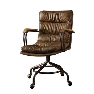 Will Genuine Leather Office Chair by 17 Stories Find