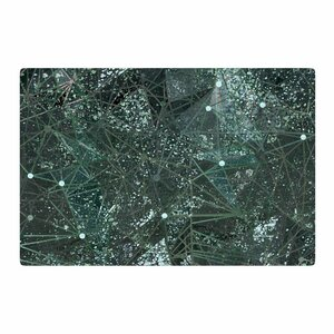 Marianna Tankelevich Aventurine Space Digital Green/Gray Area Rug