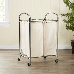 Wayfair Basics™ Wayfair Basics 2 Bag Laundry Sorter