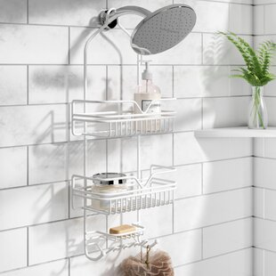 Compare prices Metal Shower Caddy By Rebrilliant
