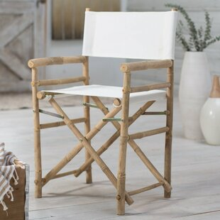 Jolicia Hand Crafted Outdoor / Indoor Bamboo Director Chair (Set of 2)
