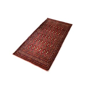 Cattalina Hand Hooked Wool Red Indoor/Outdoor Rug By Bloomsbury Market
