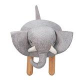 Heffy the Elephant Kids Stool Ottoman