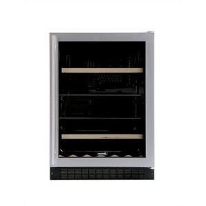 14 Bottle Luxury Dual Zone Built-In Wine Cooler by Marvel Appliances