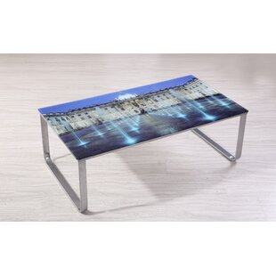 Buy clear Shelia Scene Decor Coffee Table by Ebern Designs