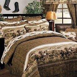 Wild Horses 3 Piece Sheet Set
