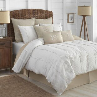 Seabrook 100% Cotton 4 Piece Reversible Comforter Set