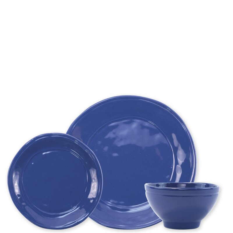 Vietri Viva Fresh 3 Piece Place Setting Service For 1 Wayfair