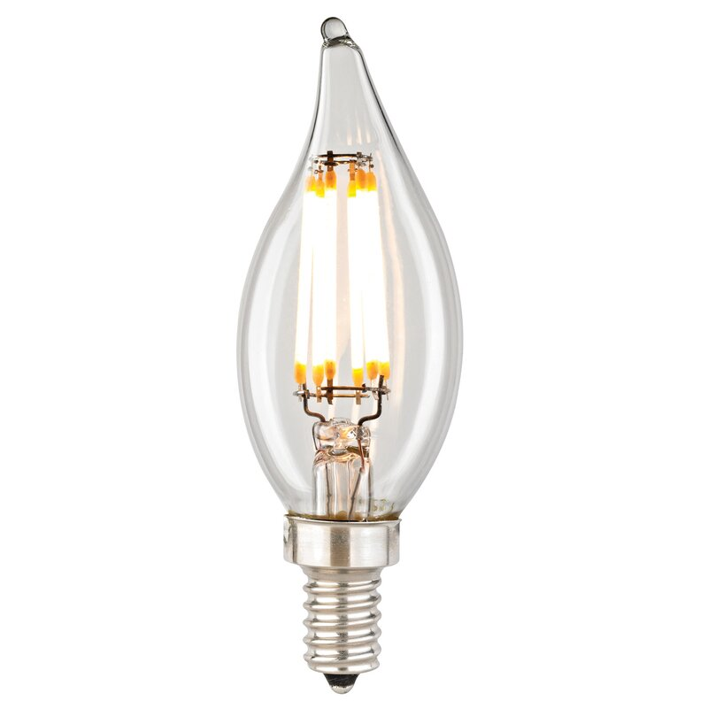 Elk Lighting Filament 6 Wattage Candelabra LED Light Bulb & Reviews ...