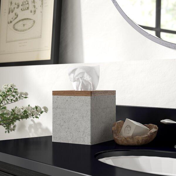 Greyleigh Stonington Concrete Stone Wooden Boutique Tissue