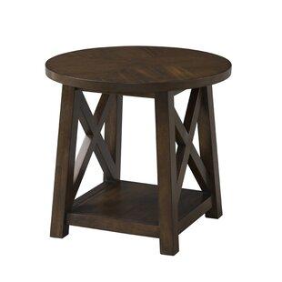 Scranton End Table by Gracie Oaks