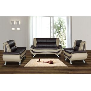 Berkeley Heights 3 Piece Living Room Set