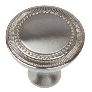 Platinum Roman Mushroom Knob (Set of 10)