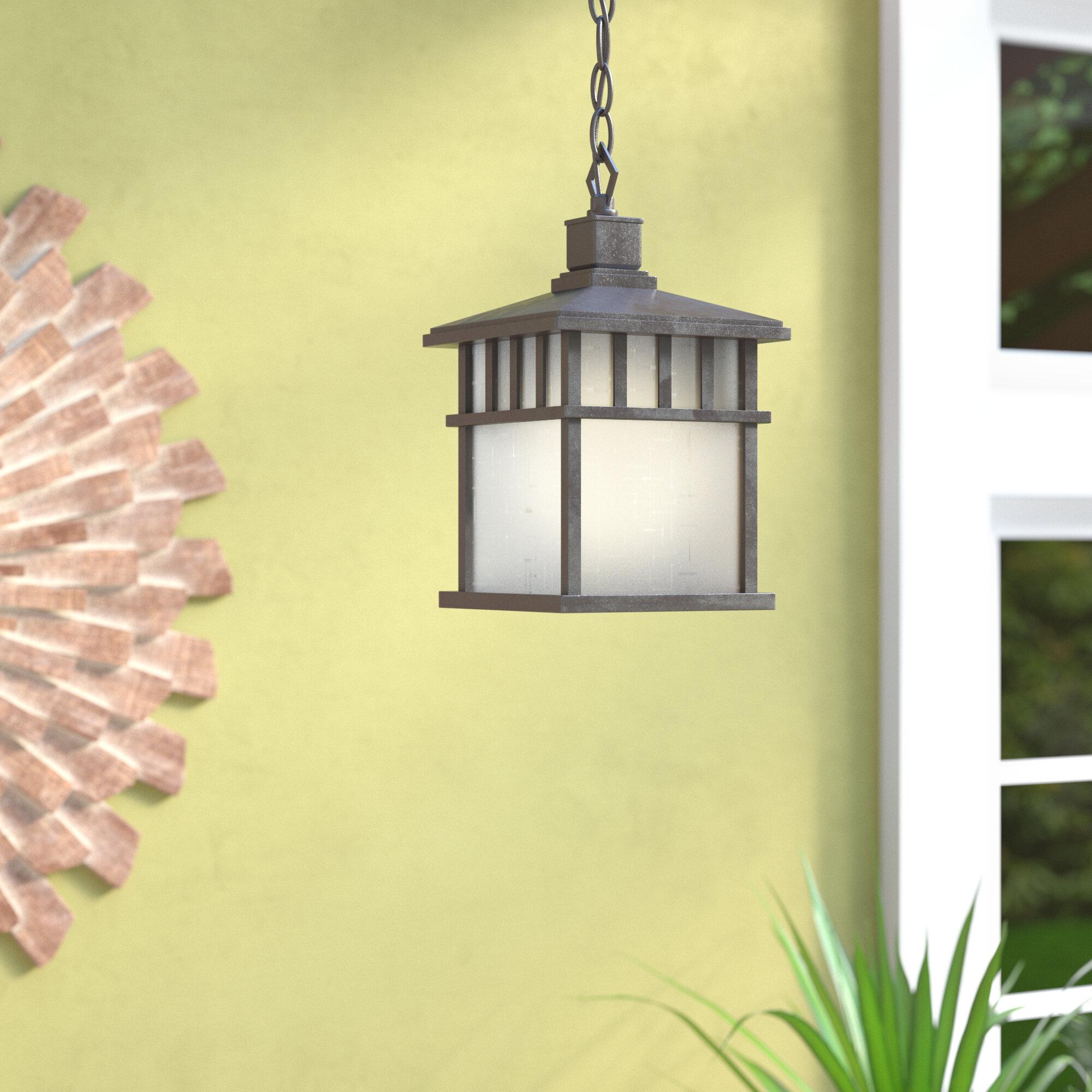 Bloomsbury Market Teminot 1 Light Outdoor Hanging Lantern Reviews Wayfair