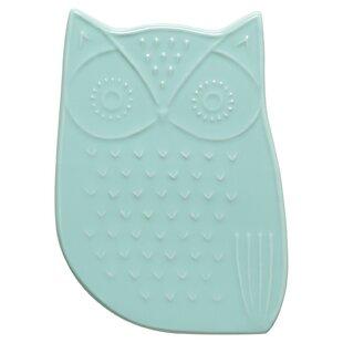 fe79d207b04d0 Owl Ceramic Trivet