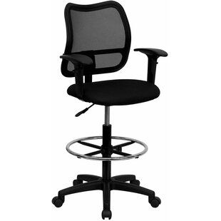 Krull Mid-Back Mesh Drafting Chair