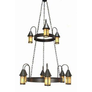 2nd Ave Design Algonquin 9-Light Shaded Chandelier