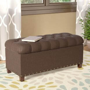 Henderson Upholstered Storage Bench by Alcott Hill