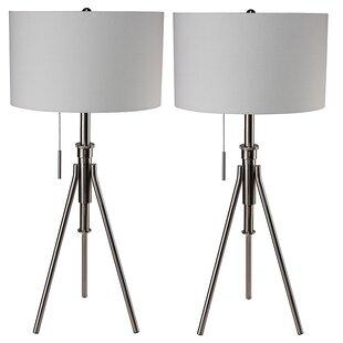 Latitude Run Geeta Tripod Lamp (Set of 2)
