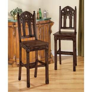 Sudbury Gothic 30 Bar Stool (Set of 2) Design Toscano
